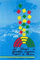 Imagem da capa da publicação Lei Eleitoral da Assembleia Legislativa Regional da Madeira (anotada e comentada - 1992)