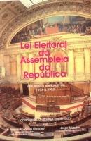 Imagem da capa da publicação Lei Eleitoral da Assembleia da República (anotada e comentada - 1991)