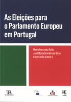 Imagem da capa da publicação As Eleições para o Parlamento Europeu em Portugal