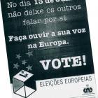 Anúncio de imprensa - Eleição do Parlamento Europeu - PE/1999